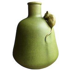 Art Nouveau Clement Massier Pottery Vase