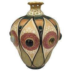 Austrian Riessner Stellmacher Art Pottery Vase