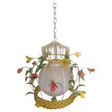 Mid Century Retro Feldman Calif Ceiling Lamp