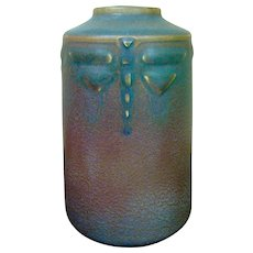 Rookwood Charles Todd Dragonfly 1912 Vase
