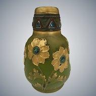 Austrian Amphora Art Pottery Vase