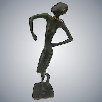 Art Deco Austrian Bronze Hagenauer Wiener Werkstatte Sculpture