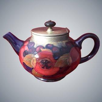 Moorcroft Tudric Pomegranate Teapot