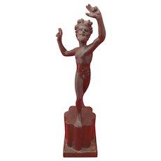 Vintage Grand Tour Bronze Hercules Sculpture