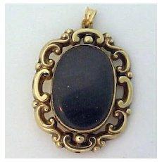 Victorian Gold Fob Locket
