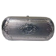 Antique Russian Silver Lady's Cigarette Case