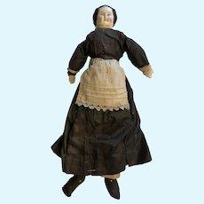 German porcelain head doll