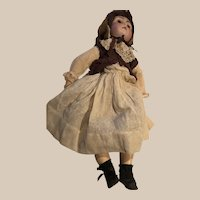 "17"" Heinrich Handwerck and Simon Halbig, Bisque Doll"