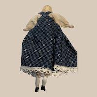 Bisque Dollhouse Doll