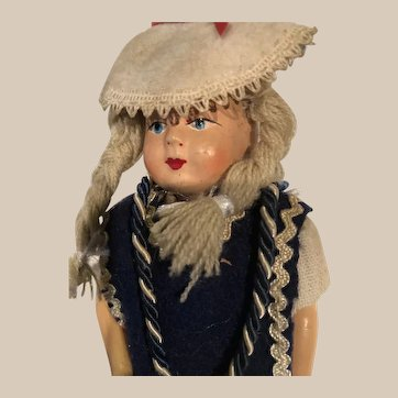 8 inch Finnish Doll in traditional Dress
