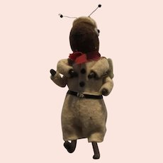 Six inch Felt Ant in Scout Uniform