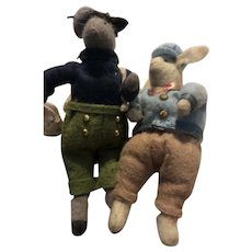 Sheep and Rabbit Go to Town