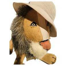 The Hand Made Bogart Felt Lion