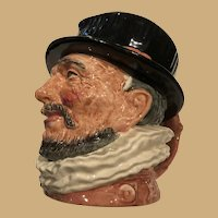 Dolton 1946 Beef eater Toby mug made by Royal Doulton