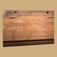 Small Early White Pine Lap Desk