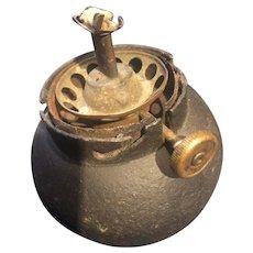 The Iron Canon Ball Lamp