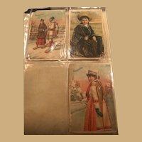 Three Beautiful Soapine Ephemera Cards from late 19th Century