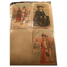 Three Beautiful Soapine Ephemera Cards from late 19th Century
