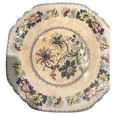 """Balmoral 12"""" Platter with Striking Colors and Pattern"""