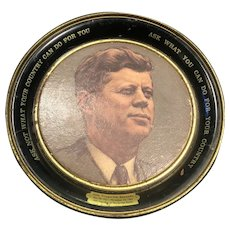 John F. Kennedy Small Serving Tray Memorabilia