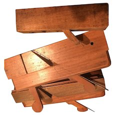 Three Wood Hand Planes with cutters and Glasgow, Currie Ogee Plane