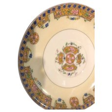 Small Decorative  Seven Inch Limoges Plate