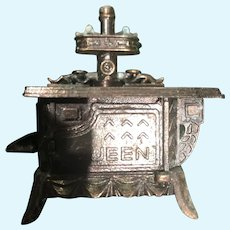 Two by Two Inch Miniature Copper Stove