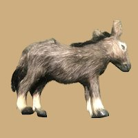 Five by Five Inch Sweet Fur Toy Donkey