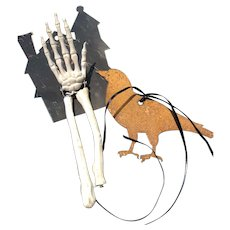 A Bird in Hand at Halloween Time