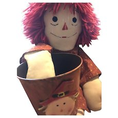 """Classic 22"""" Raggedy Ann goes Trick or Treating"""