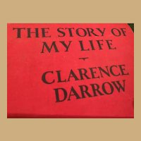 """Inscribed Clarence Darrow Autobiography, """"The Story of My Life"""""""