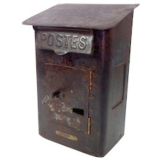 Antique French Poste Box c. 1900-1920