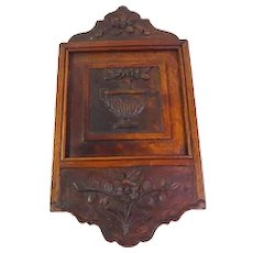 Very Old Provencal French Antique Flour Box, 'Fariniere c.1790-1820