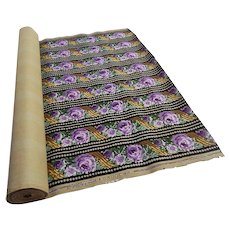 Roll of Vintage Wallpaper over 6 Metres