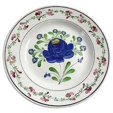 Handpainted French Antique Plate c.1850