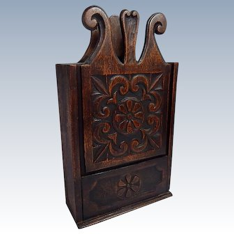Exceptionally Large Provencal French Antique Flour Box, 'Fariniere',