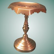 Vintage Victorian Brass Fireplace Trivet