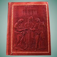 Album Book With Acid Free Pages, Protective Inter-leaves, And An Embossed  Faux Leather Cover