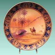 Japanese Porcelain Vintage Camel China Plate