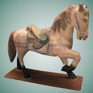 Vintage Papier-Mache Horse