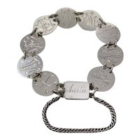 Victorian Love Token Bracelet With The Name Anita
