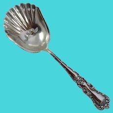 Vintage Baker-Manchester Sterling Silver Nut Spoon