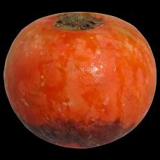 Vintage Italian Painted Alabaster Pomegranate