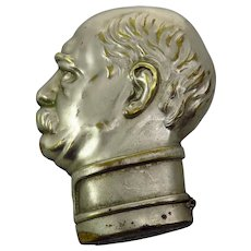 Edwardian Gentleman's Head Vesta Case