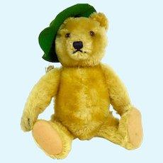 Vintage Steiff Jointed US Zone Mohair Teddy Bear