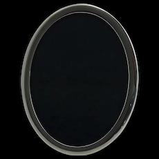 Vintage Sterling Silver Oval Picture Frame