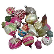 19 Antique And Vintage Glass Christmas Ornaments