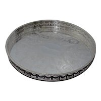 Vintage Silver Plated Serving Tray By The Cutlers Company
