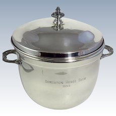 Vintage Silverplate Trophy Ice Bucket