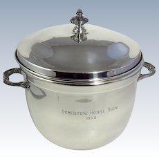 Vintage Silverplate Trophy Ice Bucket